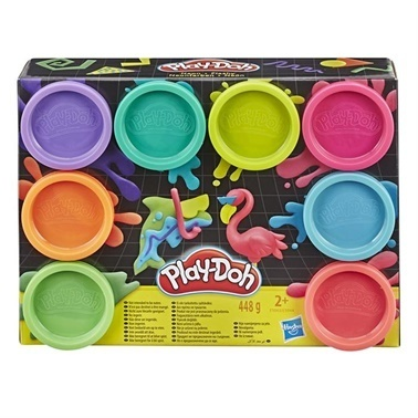 Play-Doh Play-Doh 8Li Hamur Neon Renkler Renkli